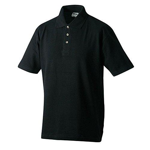 Polo Piqué Medium, Größen S-5XL, viele Farben Black