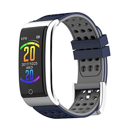ZXCVBAS Smart Bracelet Sports Steps Schlafüberwachungsmeldung EKG-Bericht HRV-Bericht PPG-Testbericht Anruferinnerung