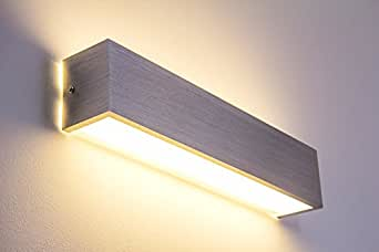 applique murale led olbia en aluminium 12 watt 840 lumen 3000 kelvin luminaires. Black Bedroom Furniture Sets. Home Design Ideas