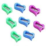Best School Smart School Smart Electric Sharpeners - School Smart Hand Held Plastic Pencil Sharpener-Assorted Colors-Pack Review