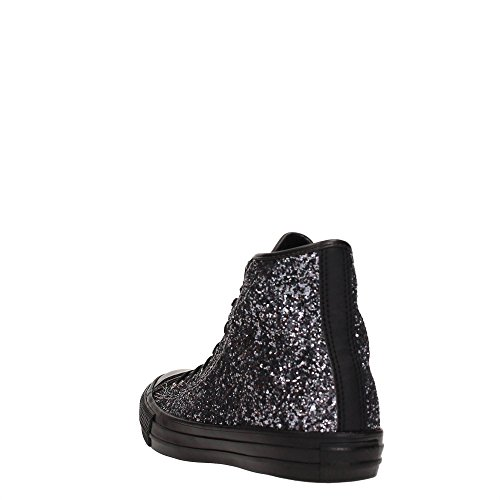 Converse - Converse Chaussures Femme Noir Paillettes All Star BRUNITO