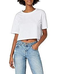 Urban Classics Ladies Short Oversized tee Camiseta para Mujer