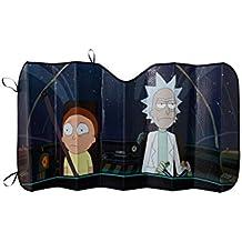 Rick and Morty Windshield Accordian Sunshade
