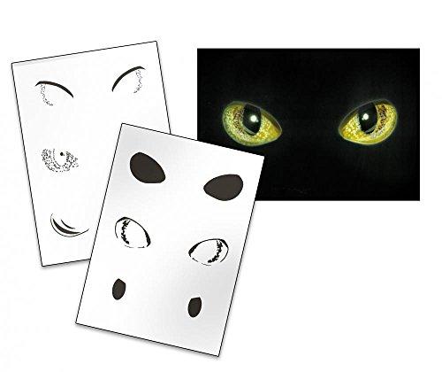 UMR-Design AS-146 cat eyes Airbrushschablone Step by Step Grösse L