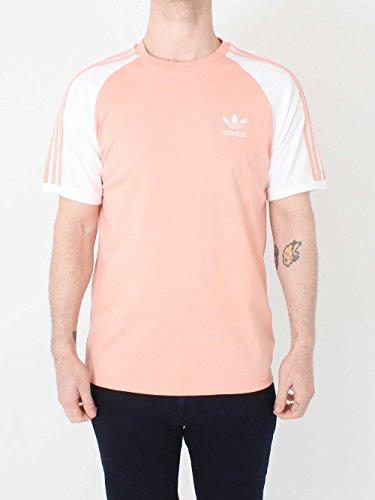 Adidas uomo 3strisce di t shirt, uomo, cv6000, duspnk, xxl