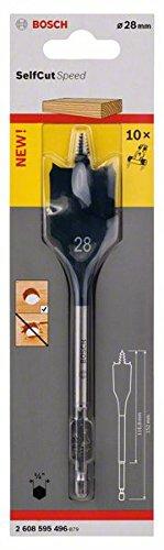 """Preisvergleich Produktbild Bosch Pro Flachfräsbohrer Self Cut Speed mit 1/4""""-Sechskantschaft (Ø 28 mm)"""