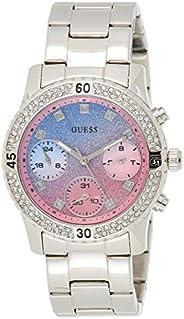 GUESS Women's watch Multi-function Display Quartz Movement steel Bracelet W07