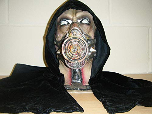it Kapuze Gas Maske Monster Zombie Halloween Voller Kopf Kostüm Maske ()