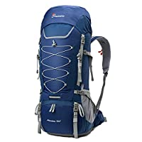 Mountaintop 75L Outdoor Sport Hiking Backpack,85 x 33 x 26 cm