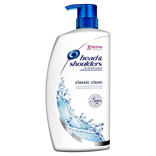 Head & Shoulders Classic Clean Anti-Dandruff Shampoo, 1000 ml