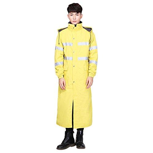 HGXC WY Langer Trenchcoat, Campen im Freien und Langer Poncho-Mantel draussen (Farbe : D, größe : XL)