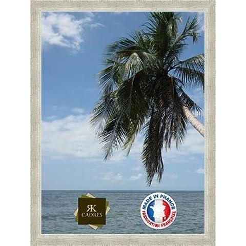 Marco de foto de la pared 50x70 / 50 x 70 marco de la foto Argent Classique, 3.6 cm de ancho, Marco de madera de fotos