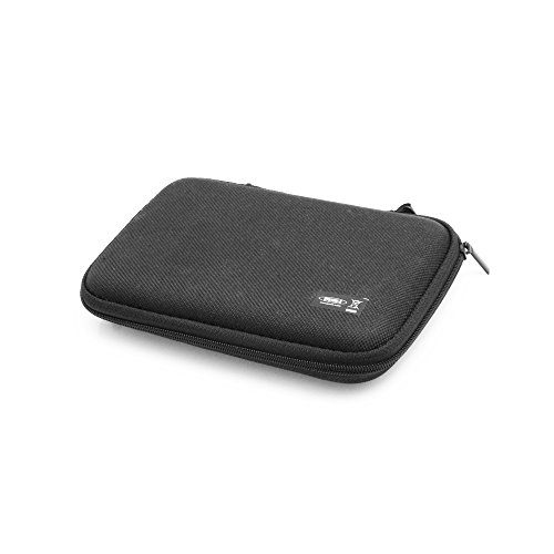 System-S stoßsicheres Kabelschutz Reißverschluss Etui (ca.2 cm x 9 cm x 15 cm) Tasche Box Hülle für Mp3 Player Kopfhörer Smartphone