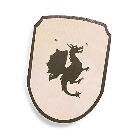 Pinolino 359404 - Ritterschild, Motiv Drache (Ritterschild Kostüm)