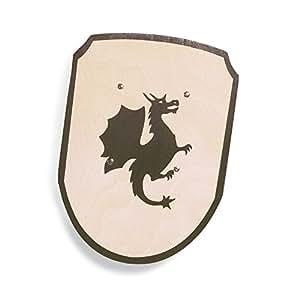 Pinolino 359404 - Ritterschild, Motiv Drache: Amazon.de