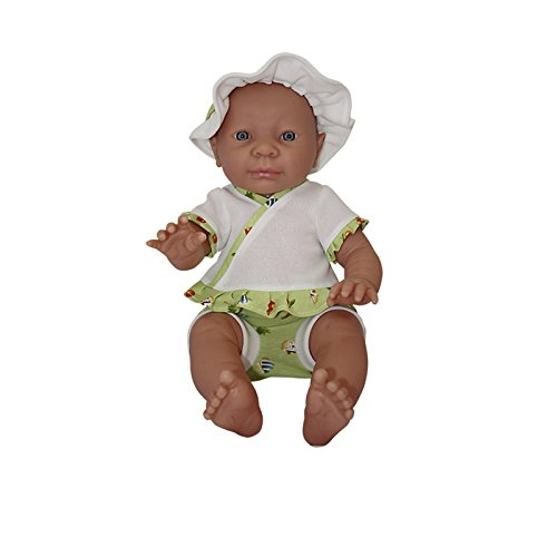 BELONIL - PREEMIE 52  MUñECA EUROPEA CON ROPA DE VERANO  45 CM (THE DOLL FACTORY EUROPE 082 60359 08114)