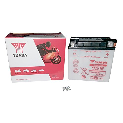YUASA YB7L-B2 Batterie de Moto