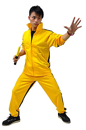ZooBoo gelb Martial Arts Jumpsuit – Halloween Fighting Film Film -