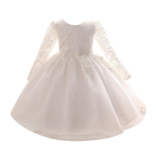 Muium Bridesmaid Pageant Princess Toddler Infant Baby Girls Gown ...