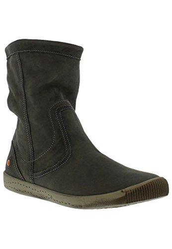 Softinos IGGY TOP washed leather HW16 Grün