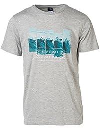 Rip Curl Broken Summer Tee T-Shirt Manches Courtes Homme