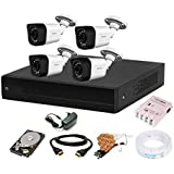 CP PLUS 1080p HD Outdoor Camera Combo Set