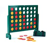 Garden Games Jumbo 4 in a Row Wooden Game - 750mm Tall - Giant Game for the Whole Family