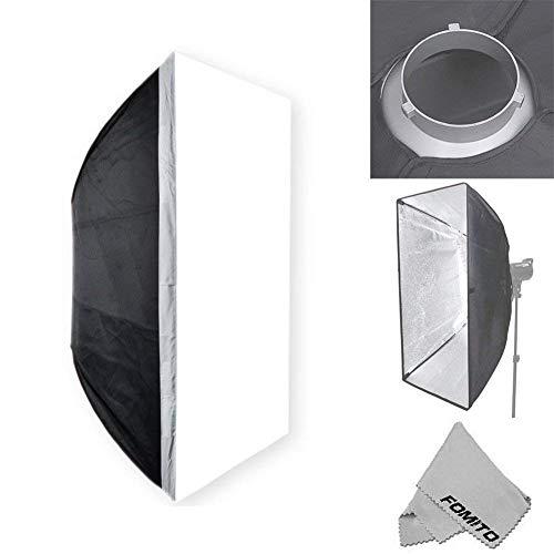 fomito Godox 80x 120cm/80x 120cm Studio Beleuchtung Foto Softbox Bowens Halterung für Light Flash, für Godox, für Jinbei, für Neewer Stroboskop/Blitzlicht und andere Studio Flash Light