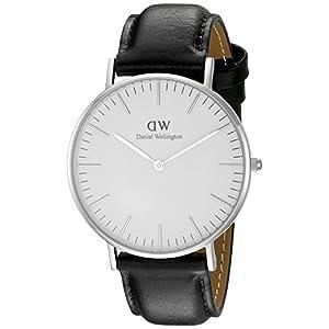 Daniel Wellington Women's Quartz Watch Classic Sheffield Lady 0608DW with Leather Strap
