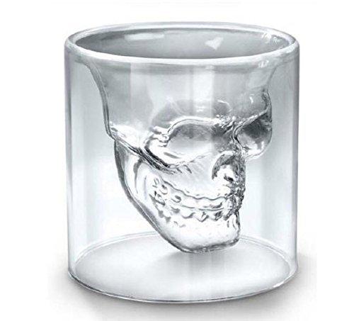 Uniqstore - Juego de vasos de chupito (6 unidades), cristal...