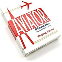 Aviator Pinochle Playing Cards - 1 Sealed Red Deck by Aviator