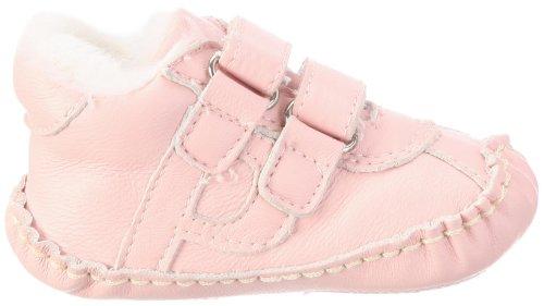 Playshoes Lederschuhe gefüttert 107730 Unisex-Baby Krabbelschuhe Pink (rose 14)