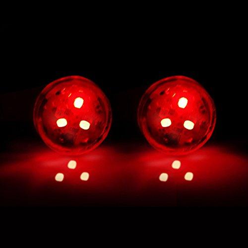 Alftek 2 pcs/lot LED Clignotant avertissement lampe Auto Strobe Feu de circulation Porte de voiture anti Collision lumières