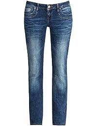 LTB Damen Straight Fit Jeans blau 30 / 34