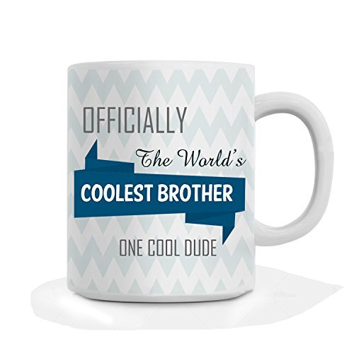 Gift for brother. Printelligent Designer quotes Mug For Brother Rakhi Gift, Birthday Gift for Brother, Coffee Mug for Brother, Mug for Brother, Gift for Brother.