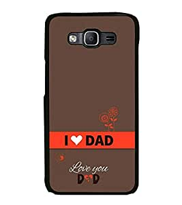 Happy Father's Day Back Case Cover for SAMSUNG GALAXY On5