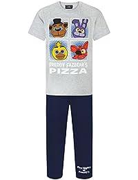 FIVE NIGHTS AT FREDDY'S - Pijama dos piezas - Manga corta - para niño