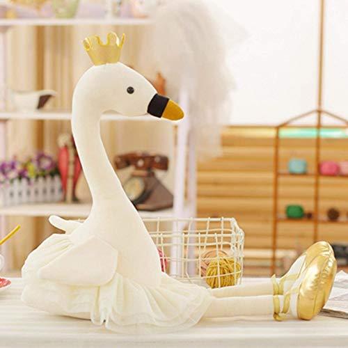 jikaifaquyanhel Krone Flamingo Plüsch Puppe Ballett Rock Puppe - Weiß - Rock-krone