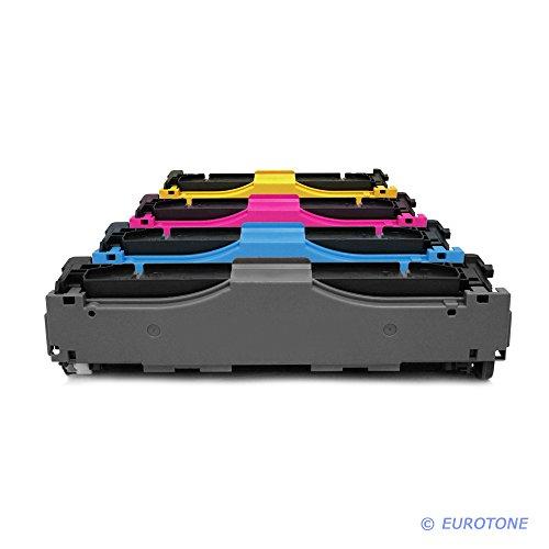 Preisvergleich Produktbild 4x Eurotone Premium Toner im Set für Canon I-Sensys LBP-7200 c cdn cn LBP-7210 LBP-7660 LBP-7680 cx / MF720 MF724 Cdw MF726 MF728 MF729 Cx / MF8300 MF8330 cdn MF8340 MF8350 MF8360 MF8380 MF8500 MF8540 cdn MF8550 cdn MF 8580 cdw - ersetzt Cartridge 718