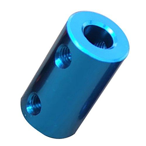 Motor Kupplung (Sharplace Flexible Wellenkupplung Motor Kupplung - Wasserblau 8-10mm)