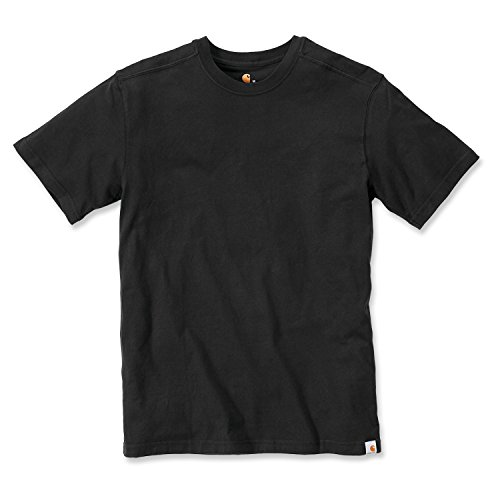 Carhartt Maddock Basic T-Shirt - Arbeitsshirt - Black XL (Aus Shirt Baumwolle Carhartt)
