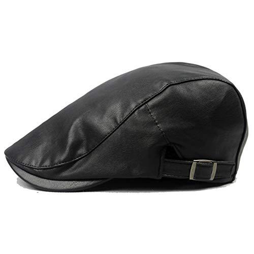 Caliente De La Boina De Cuero Transpirable Sombrero