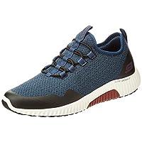 SKECHERS Paxmen, Men's Road Running Shoes, Multicolour (Teal/Black), 44 EU