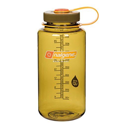 Nalgene Klassiker WH Trinkflasche, Oliv, 1 Liter