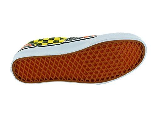 Vans U Era, Baskets mode mixte adulte van doren orange palm/yellow checker