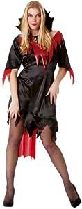 César - Disfraz de vampiresa para mujer, talla 40 (E624-002)