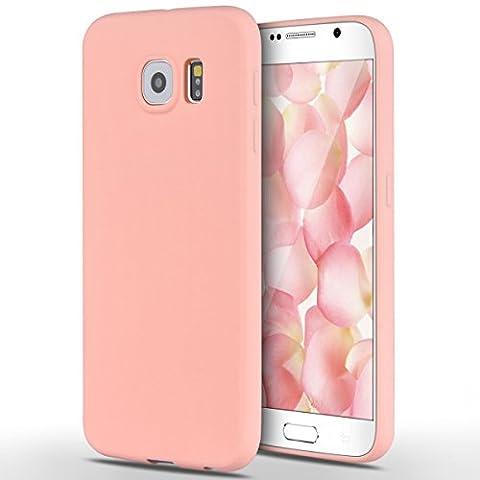 Samsung Galaxy S6 Hülle, Yokata Einfarbig Jelly