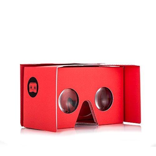 I AM CARDBOARD VR Box   Visore VR Smartphone per iPhone e Android   Dispositivo Realtà Virtuale Ispirato al Cardboard Google V2   VR Headsets  Accessori Cellulare per Regali Originali