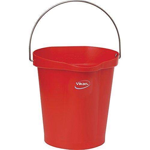 Vikan Eimer, 12 Liter, red