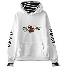 CTOOO Shawn Mendes Ropa Conmemorativa Falso Dos Piezas Suéter De Manga Larga Hombres Y Mujeres Sudaderas